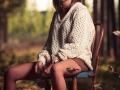 Victoria, otoño y silla