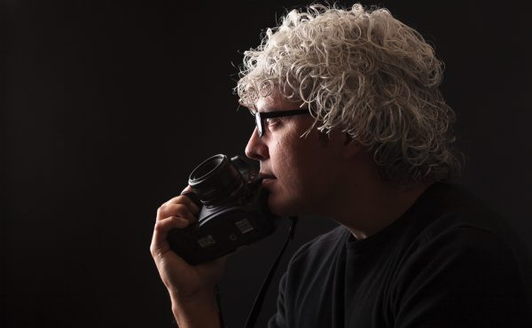 Retrato del fotógrafo Anibal Trejo