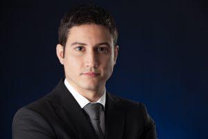 Retrato de Ismael Peralta por Javi Aguilar