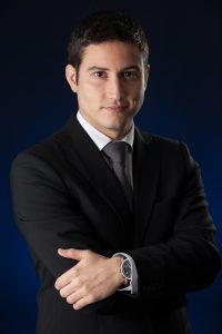Retrato de Ismael Peralta, por Javi Aguilar