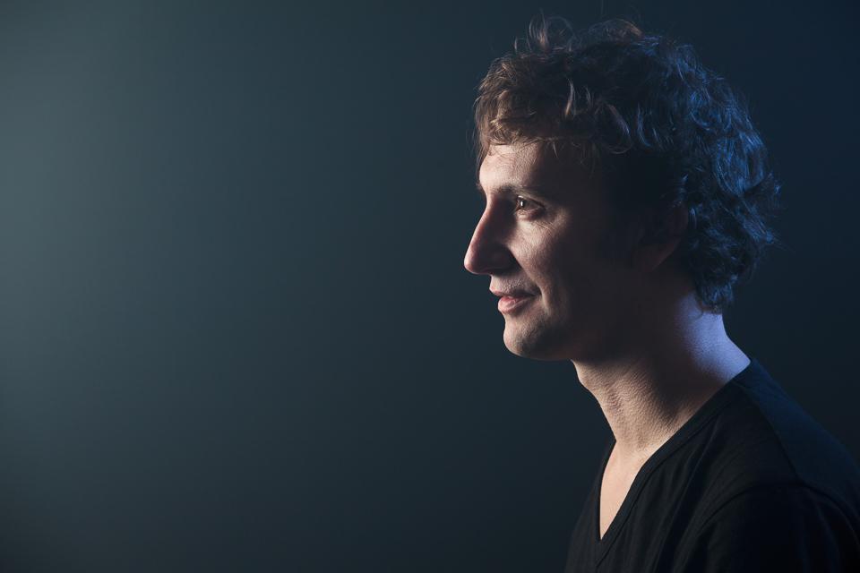Retrato del músico Guillem Mitchel